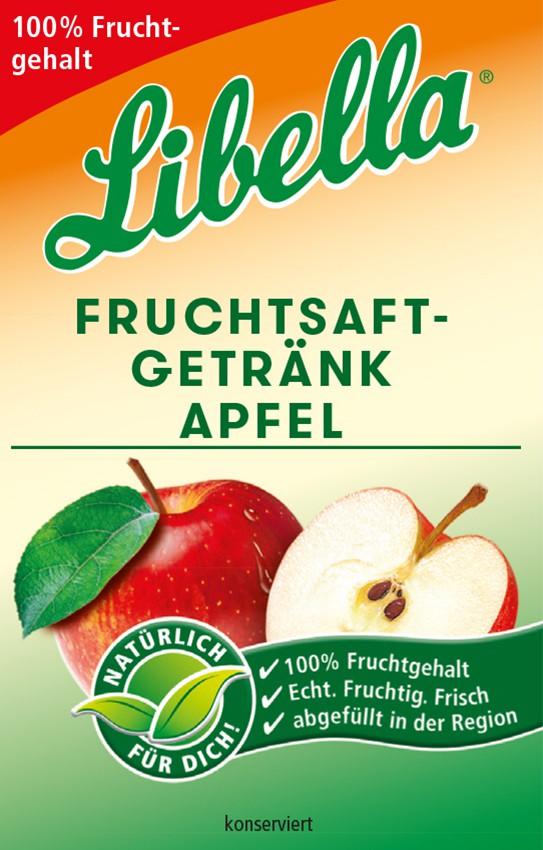 Libella Fruchtsaftgetränk Apfel Bag in Box Postmix