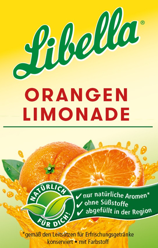 Libella Orangenlimonade Bag in Box Postmix